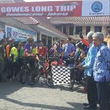Pemberangkatan Team Gowes Long Trip Jogja-Jakarta, Kampanyekan Hidup Sehat Tanpa Narkoba