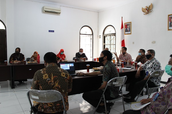 Kunjungan Kepala BNNP DIY ke BNN Kota Yogyakarta
