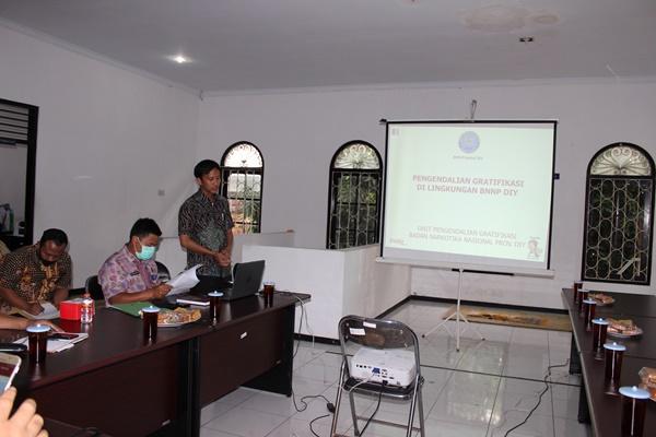 BNNP DIY Lakukan Sosialisasi Zona Integritas di BNN Kota Yogyakarta