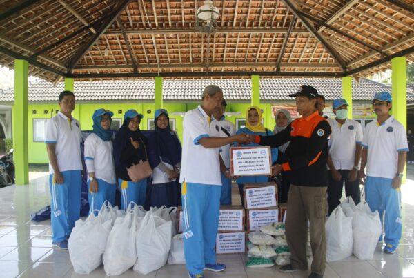 BNN Wilayah Provinsi DIY Salurkan Bantuan Korban Banjir Imogiri, Bantul