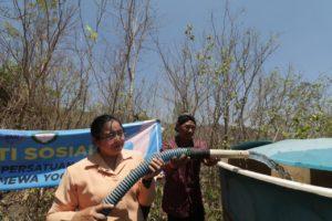 DWP BNN wilayah DIY bakti sosial air bersih
