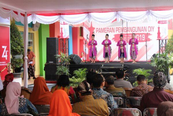 Pameran Pembangunan BNNP DIY di Taman Pintar Yogyakarta