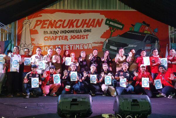 Sinergitas BNNP DIY - Gelora Salam Stop Narkoba Pada Pengukuhan Klub Pajero Indonesia One (PI One) Chapter Jogist (Jogja Istimewa)