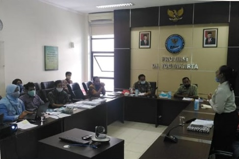 Advokasi dan Diskusi Mengenai P4GN dengan Mahasiswa Magang