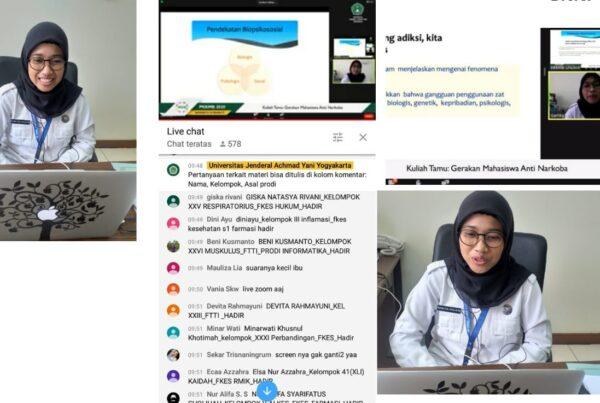 Sosialisasi P4GN pada Kuliah Umum Mahasiswa Baru Universitas Jend Ahmad Yani