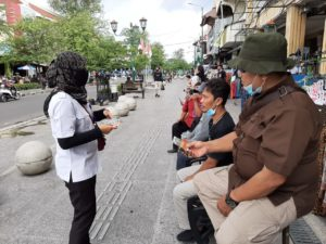 Kampanye P4GN bersama Deputi Pemberantasan dan Deputi Pencegahan BNN RI serta Kepala BNNP DIY