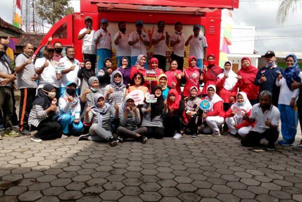 BNNP DIY Gelar Layanan Terpadu Mobile di Kelurahan Sentolo Kulon Progo