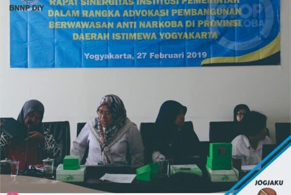 Rapat Sinergitas Institusi Pemerintah Dalam Rangka Advokasi Pembangunan Berwawasan Narkoba