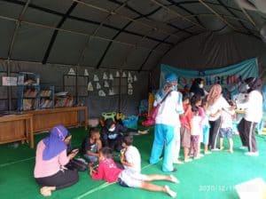 BNN Peduli Pengungsi Erupsi Merapi