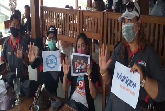 Sinergitas P4GN BNNP DIY dengan Komunitas mobil Indonesia Automotive Society (IAS) Jogja dalam event 2nd Anniversary IAS Jogja