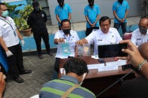 Press Release Pengungkapan Kasus Narkotika oleh BNNP DIY