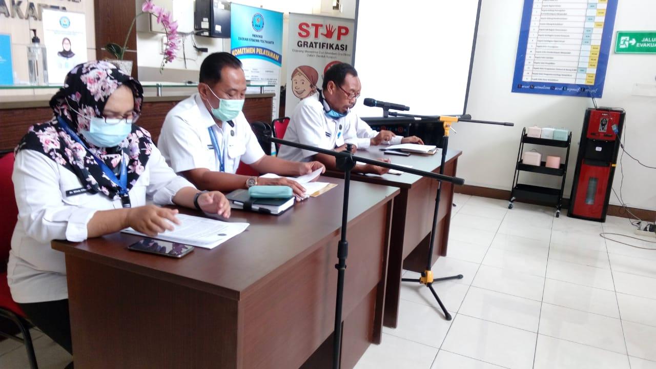 Press Release Capaian Kinerja BNNP DIY dan Jajarannya Tahun Anggaran 2020