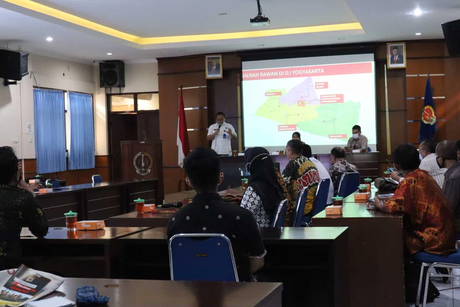 Rapat Kerja Penyusunan Rencana Aksi Daerah P4GN 2021