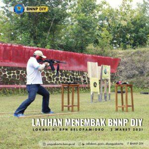 Latihan Menembak BNNP DIY