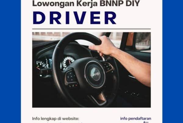 Lowongan Kerja: DRIVER 2021